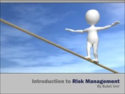 BA 4514 - Risk Management (Introduction - 22022012) v3