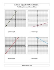 linear equations find the graph II