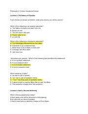 Philosophy2iClickerQuestionsReview (1)