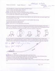 Sample Midterm 2 solution