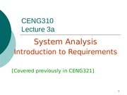 Lec 3a Intro to requirements