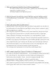 NUR 612 : Pharmacology - Maryville University - Course Hero