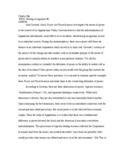 Development Sociology Essay