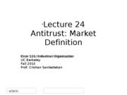 Lecture24_MarketDefinition_Econ121_Fall2010