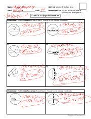 MICHAEL MASTERSON - Unit 11 - Homework 10 - Volume and ...