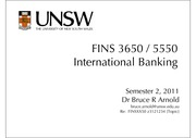 Topic 02 Selected Slides -- Banking Regulation and Capital Management
