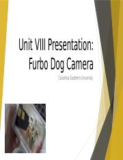 UNIT VIII - FURBO.pptx