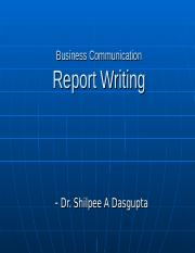 Business Report Writing.ppt