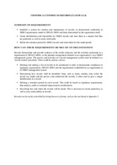 Ch15 - Control of Records (Clause 4.5.4) - 020116