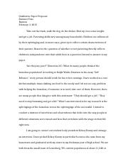Qualitative Paper Proposal