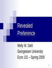 Lecture06_Spring2009_RevealedPreference.ppt