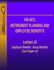 Lecture 14 - Employee benefit Group benefits.pptx