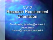CS10PoolSOQPresentation