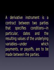 derivative instrument