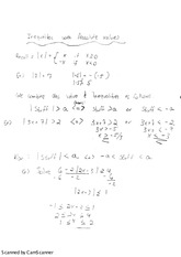 Absolute value inequalities and coordinate geometry