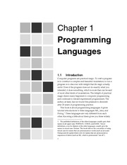 MODERN PROGRAMMING LANGUAGES A.Webber Cap1