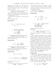 Practice Problems 2 Solutions
