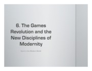 6. The Games Revolution