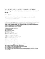cardiovascular quiz microbiology essay General microbiology biol 4501 3 13 when comparing the types of viruses that infect bacteria, plants, and vertebrate animals, what trends appear from bacterial to vertebrate viral groups.