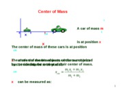 lesson 3.4 Center of Mass