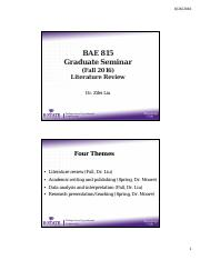 BAE815_Syllabus & some points on literature review .pdf