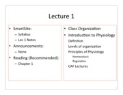 1 - Lecture 1 Notes
