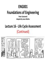 16 - Sustainability - Life Cycle Assessment.pdf