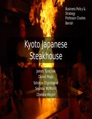Japanese Steakhouse PPT FINAL