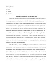 Whits Civil War paper