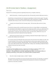 04.05 flvs fiscal policy reflection template