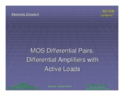 ee100b Lecture 07 - MOS Differential Pairs, Differential Amplifiers with Active Loads (Slides).pdf