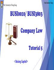 Company Law Tutorial 5_Moodle
