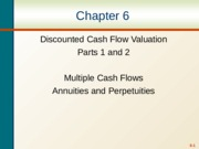 ch6 TVM annuities parts 1&2 blank.ppt