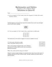 Solutions to quiz3