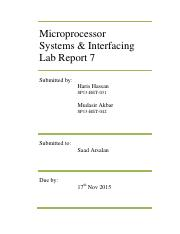 Microp. Lab Report 7