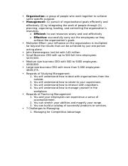 Managment 301 Test 1 Notes.docx