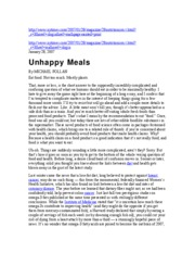 MPollan Unhappy Meals Anthropology intro