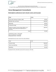 FNSACC607 Task 2 Resources - Estimated Costs and Income.docx