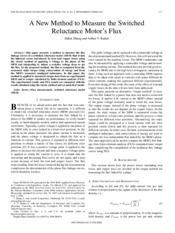 A New Method to Measure the Switched Reluctance Motor's Flux.pdf