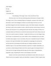 hunger games essay assignment topic proposal juline deppen  5 pages hunger games essay assignment 1