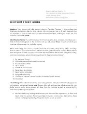 Asian American Studies 10 Midterm Study Guide