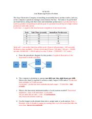 Line Balancing Practice Problem In Class Example.docx
