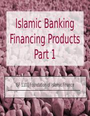 06 Islamic Banking - Financing - Part 1