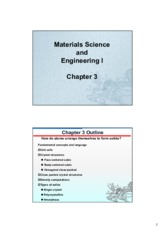 Chapter 3 Material Science