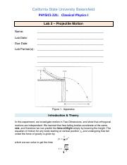 8.Projectile Motion