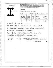 666_Mechanics Homework Mechanics of Materials Solution