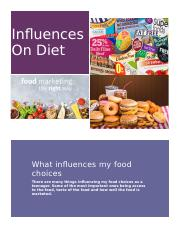 Influences On Diet.docx