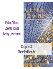 Chapter 3 Chemical bonds.pptx