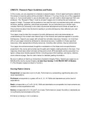 research paper on crm Find crm study guides, notes, and practice tests for saint leo university find study resources main menu  i have a research paper due on sexual homicide, what.