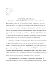 Cathedral Essay